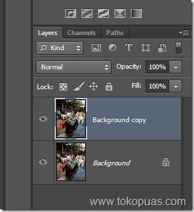 cara membuat efek foto terbakar photoshop