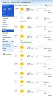 weather-forecast-pretoria