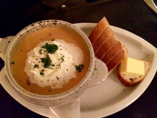 Lobster soup on Iceland food and drink - What's Katie Doing? blog