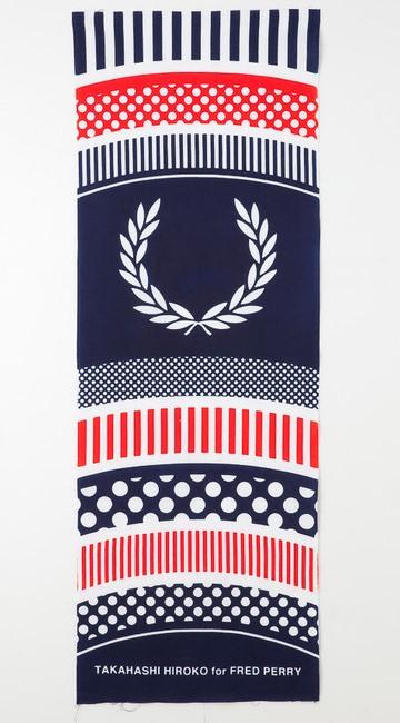 #藝術家高橋理子嶄新水玉線條呈現:FRED PERRY日本傳統手工拭巾 8