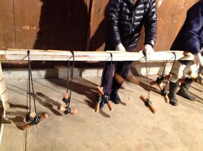 伝統的な玉露や抹茶の覆いで使われる、よしずの作り方 - 6