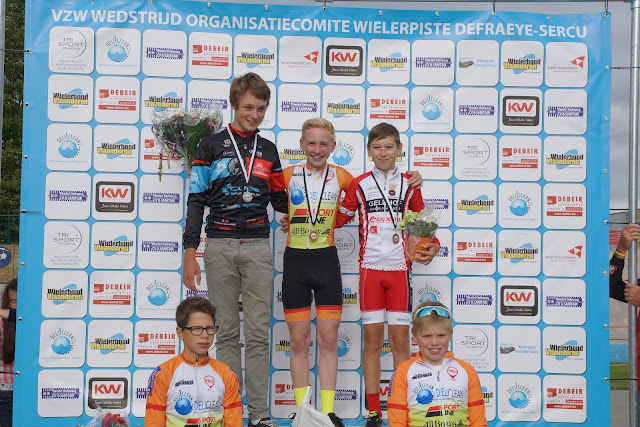 podium pistechallenge Rumbeke