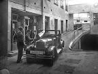 Großgarage Zschau, Frankfurter Straße16-18, heute Jahnallee, Eingang König-Johann-Straße, heute Tschaikowskistraße, um 1925, Fotograf: Hermann Walter (Atelier)