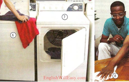 Utility room- Place to live - Housing - Photo Dictionary