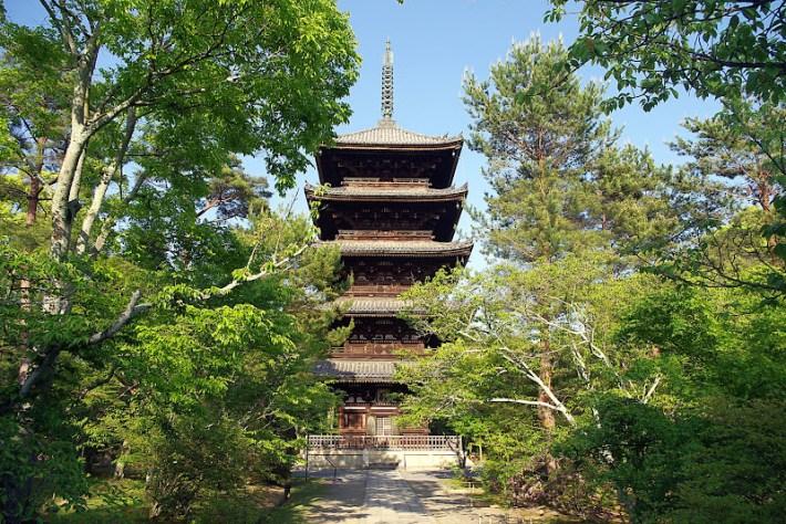 Qué ver en Kioto. Templo de Ninna-ji
