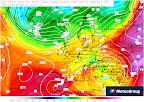 Ein mächtiges Tief über dem Balkan bestimmt unser Wetter in den nächsten Tagen