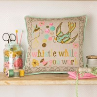 Funky Cross Stitch Inspiration from Jacqui P
