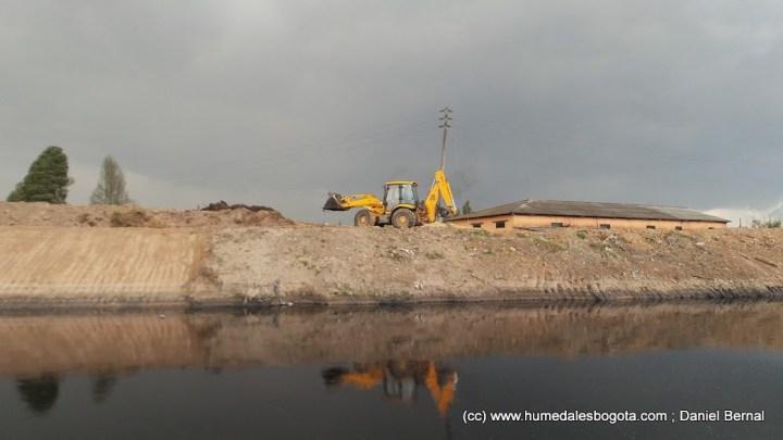 Obras en el río
