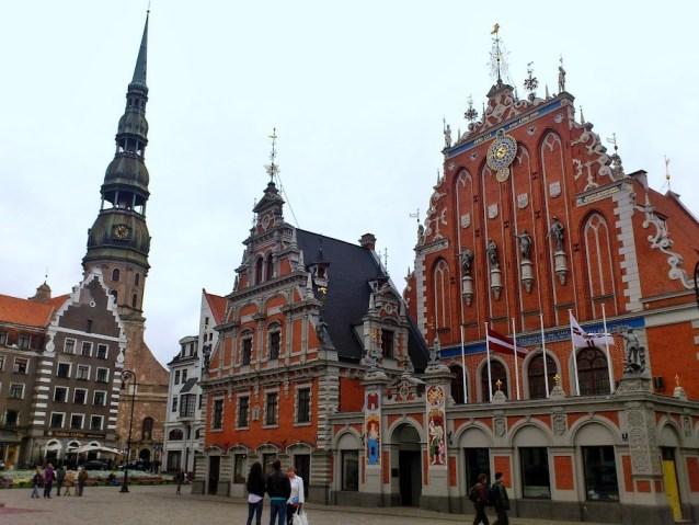 Plaza del Ayuntamiento, Riga