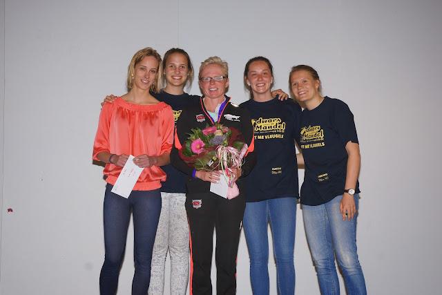 Hilde Hendrickx wint de 10 km bij de vrouwen