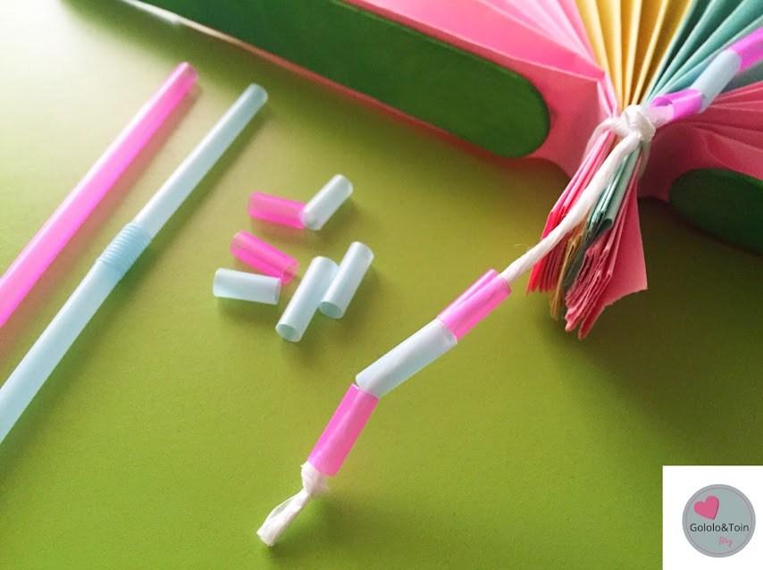 manualidades-diy-niños-faciles-verano-abanico-folios-colores-palos-helados