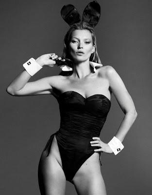 #Playboy 60周年紀念刊:獻上 Kate Moss 兔女郎造型封面 3
