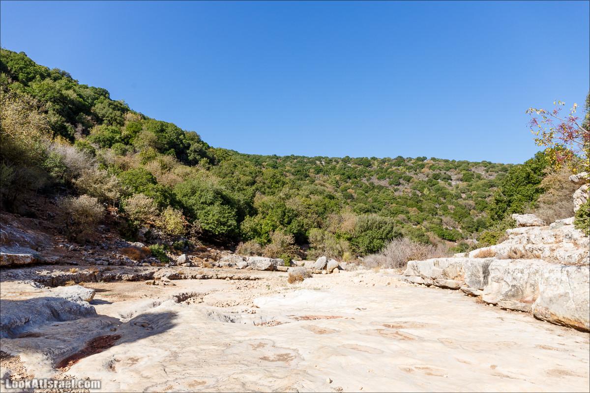 Верхний нахаль Кзив | LookAtIsrael.com - Фото путешествия по Израилю