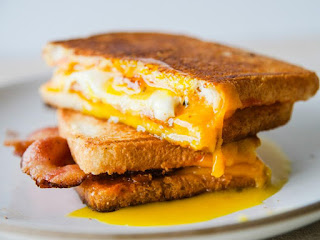 Egg and Cheddar Cheese Sandwich Recipe