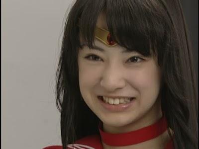 美少女戦士セーラームーンで火野レイ(セーラーマーズ)を演じる北川景子2