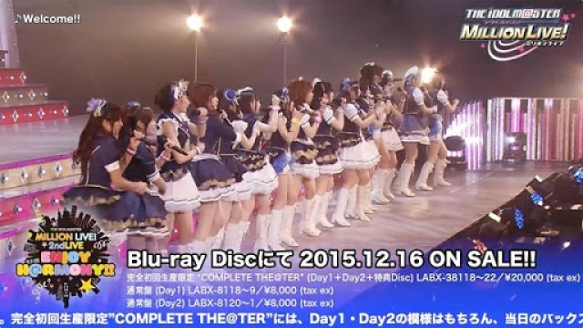 The Idolm@ster Million Live! 2nd Live Enjoy H@rmony!!