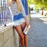 outfits for shorts in summer 2016