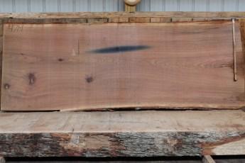 """471 White Oak -1 2 1/2 """" x 50"""" x 48"""" Wide x 10' Long"""