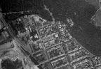 Luftaufnahme des Waldstraßenviertels aus dem Jahr 1953 - Nordwest