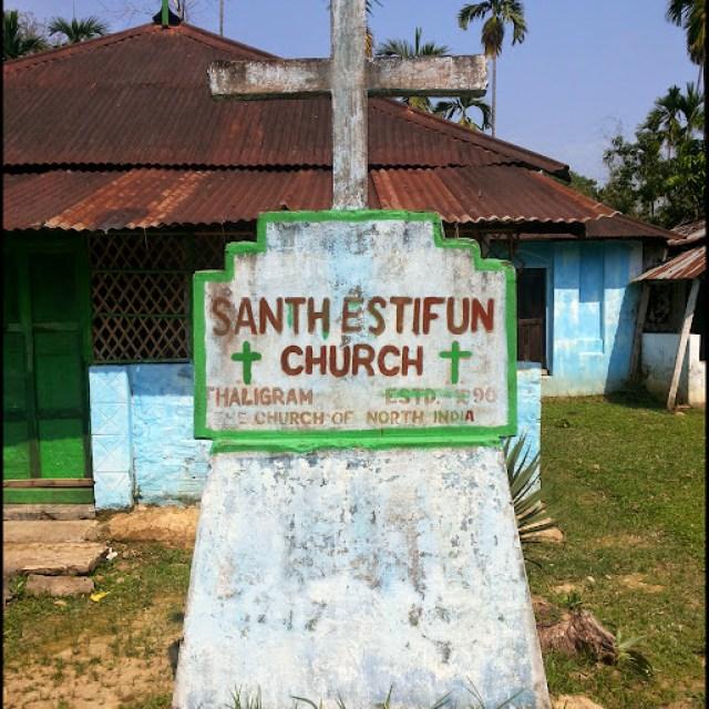 church thaligram khaspur