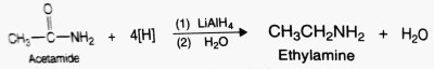 Preparation of amines from amides
