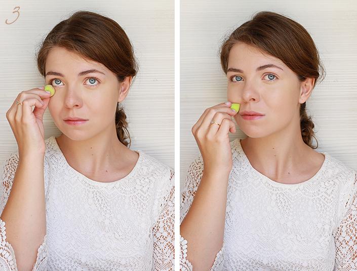 routine makeup naturelle, tuto maquillage nude, make up frais et léger pour l'été, revue produit born pretty store, réussir un maquillage discret