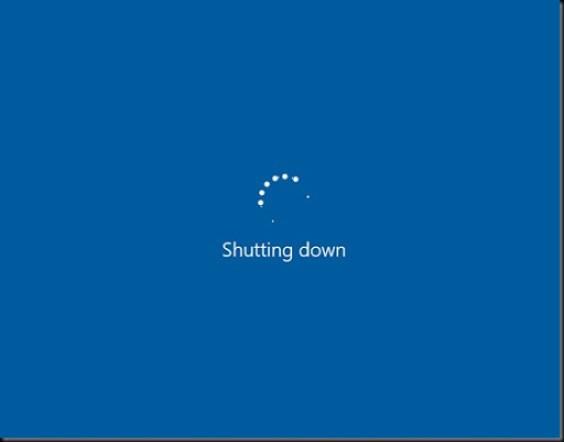 apa itu mode shutdown