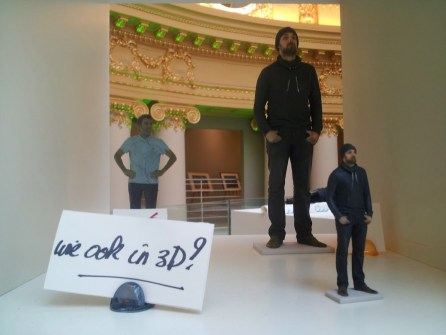 3d printed self, for sale at 3dee Antwerpen