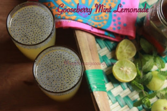 Gooseberry Mint Lemonade4