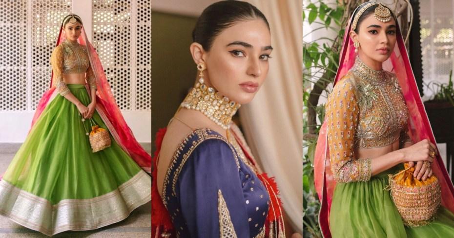 Actress Saheefa Jabbar Stunning looks in Bridal Photo Shoot