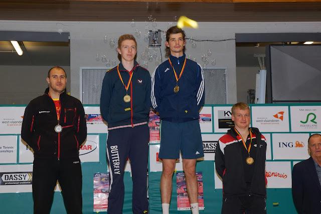 Belgisch Kampioen heren dubbel tafeltennis