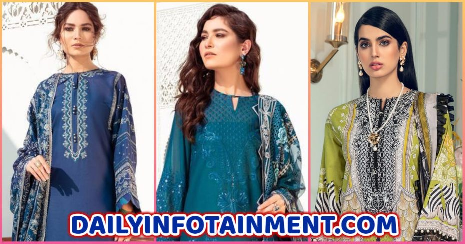 """ANAYA by Kiran Chaudhry Luxury Lawn Collection """"L'amour de Vie"""""""
