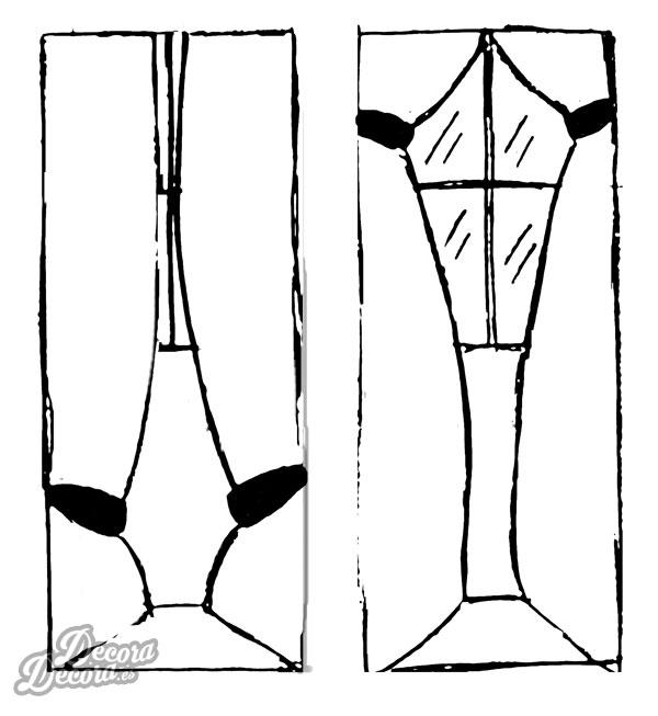 Altura alzapaños cortinas