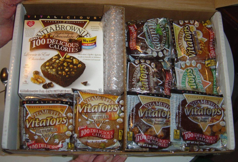 Healthy Baked Goods Vitalicious Sampler