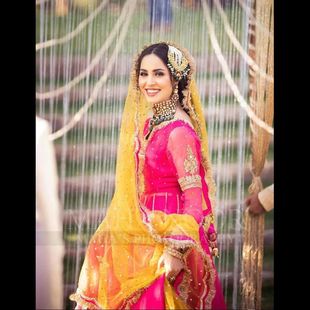 Nimra Khan Mehndi Photo Shoot