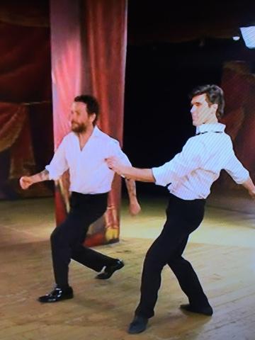 Jovanotti e Bolle ballano insieme come Baryshnikov e Hines