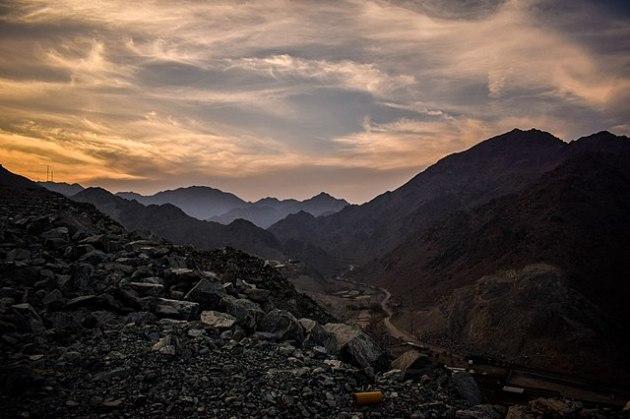 Al Hajar Mountains, Fujierah, UAE