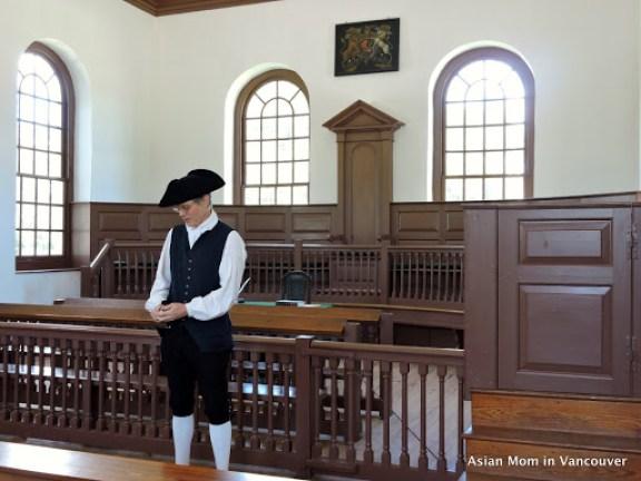 殖民時代的法院Courthouse