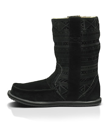 #SANUK WANDERER PRIMO:裡外兼具的麂皮雷雕民俗雪靴! 3