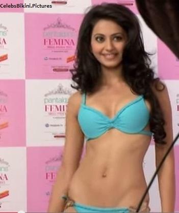 %25255BUNSET%25255D - Rakul preet hot in Bikini for fashion Bikini show as a model before acting