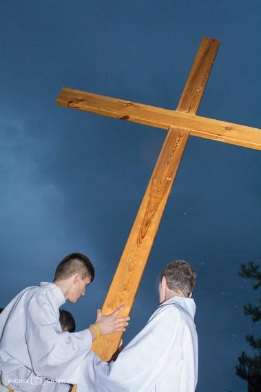 DSC 4719 Droga krzyżowa w zaprzyjaźnionej parafii