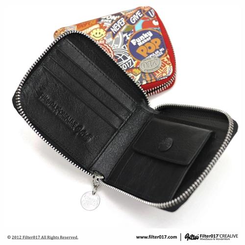 *Filter017 Pattern Wallet:「皮革噴塗技術」塗鴉短夾! 5