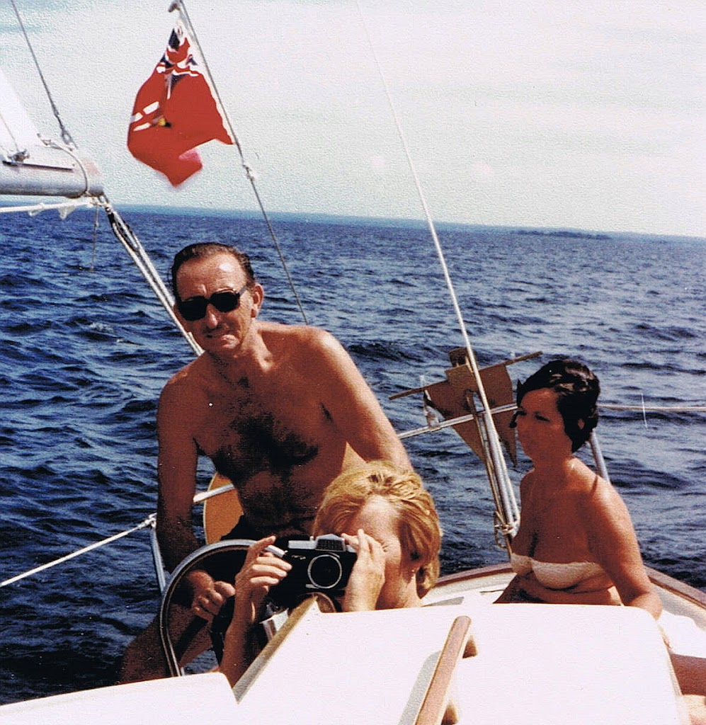 1979 sailing Georgian Bay