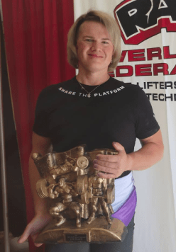 Trans Athlete DEMOLISHES Four Women's Powerlifting World