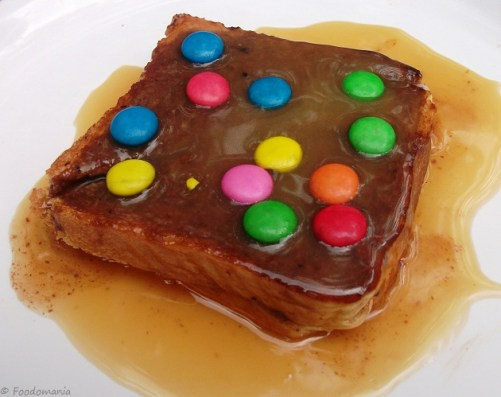 caramel chocolate sandwich