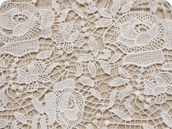 Crochet fabrics