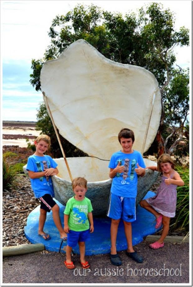 Big Oyster in Ceduna, WA | Our Aussie Homeschool