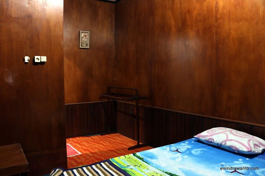 Kamar yang saya tempati di Derawan Fisheries Cottages