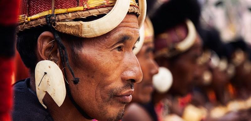 naga traditional attire hornbill festival