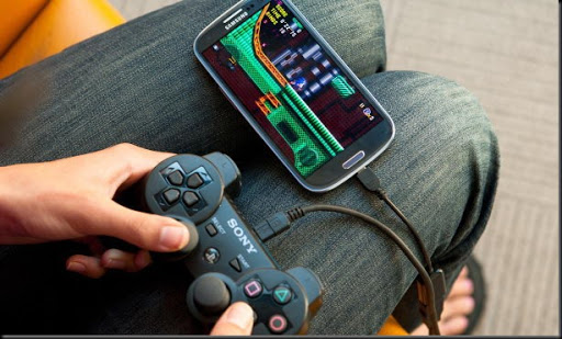 usb otg untuk menghubungkan joystick ke smartphone